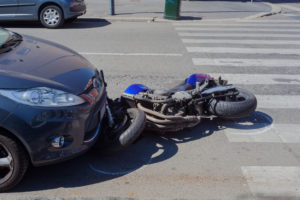 Motorcycle accident California